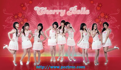 cherry belle - Cherly, Angel, Wenda, Ryn, Anisa, Felly, Devi, Christy, dan Gigi