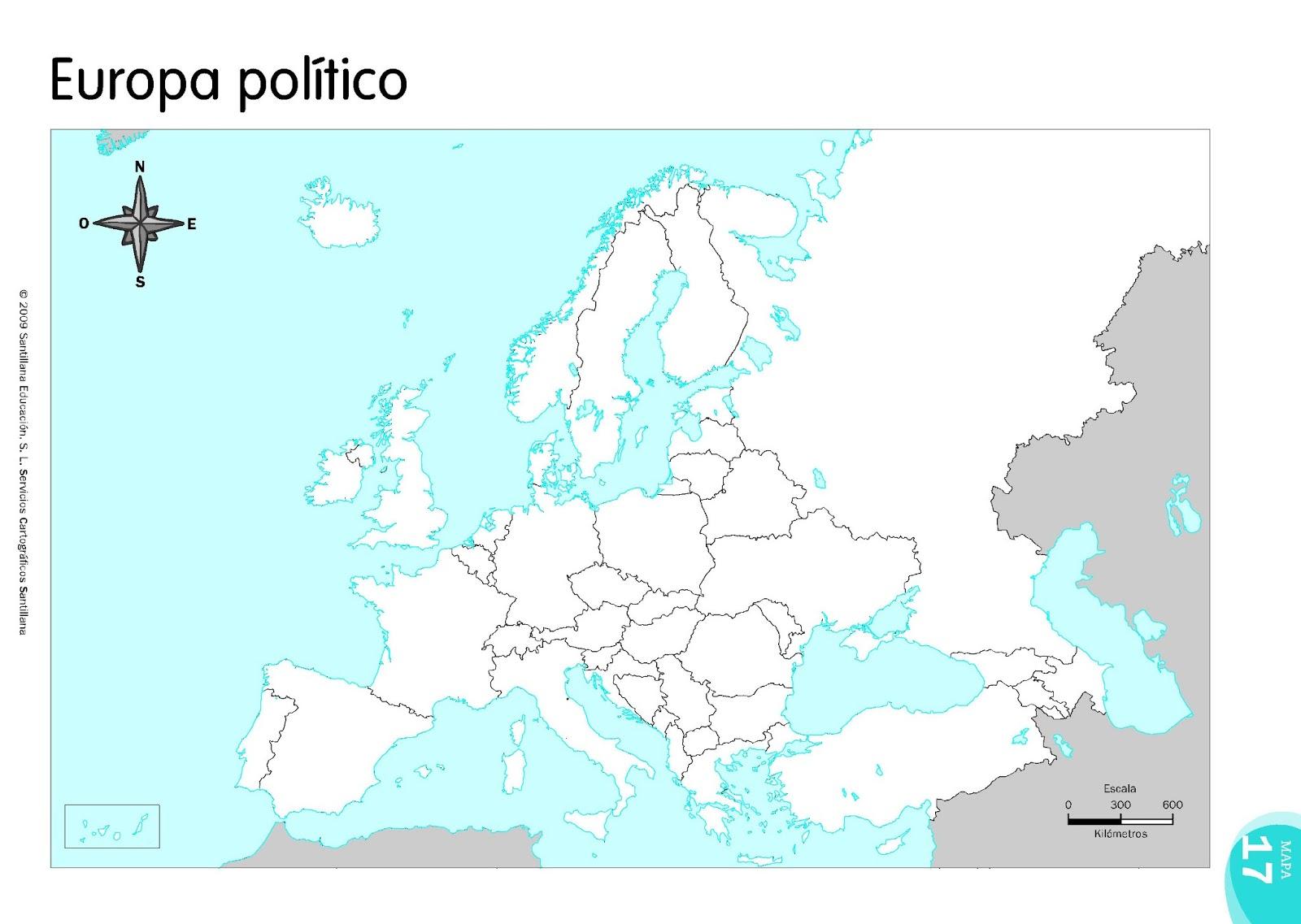 Mapa De Europa Con Nombres Pdf