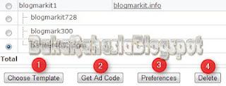fungsi-fungsi tombol setting bidvertiser