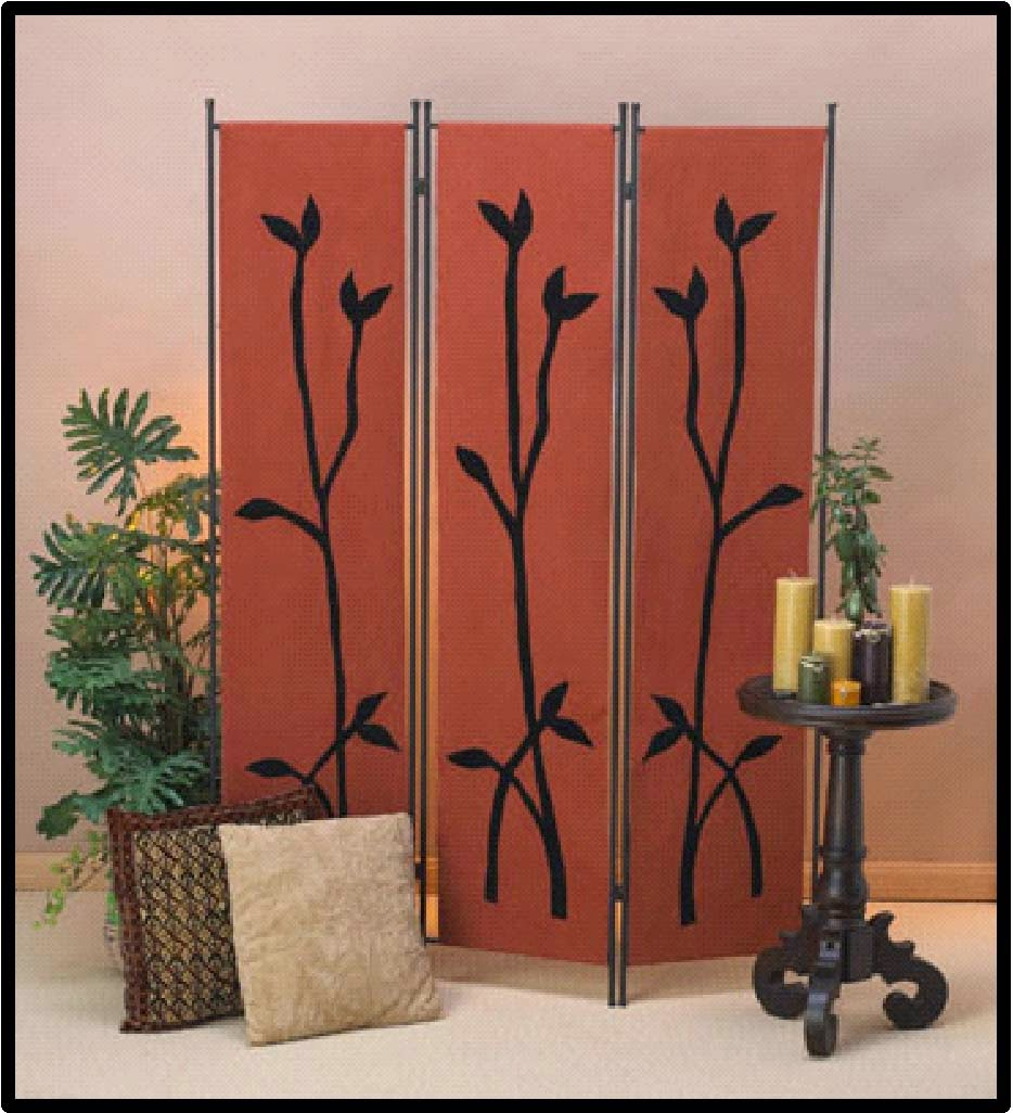 Elite decor 2014 easy diy folding screens ideas room dividers - Collapsible room divider ...