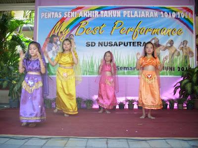 Kegiatan Ekstrakurikuler di SD Nusaputera