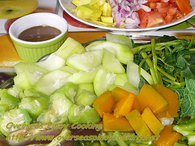 Pinakuloang Gulay Salad