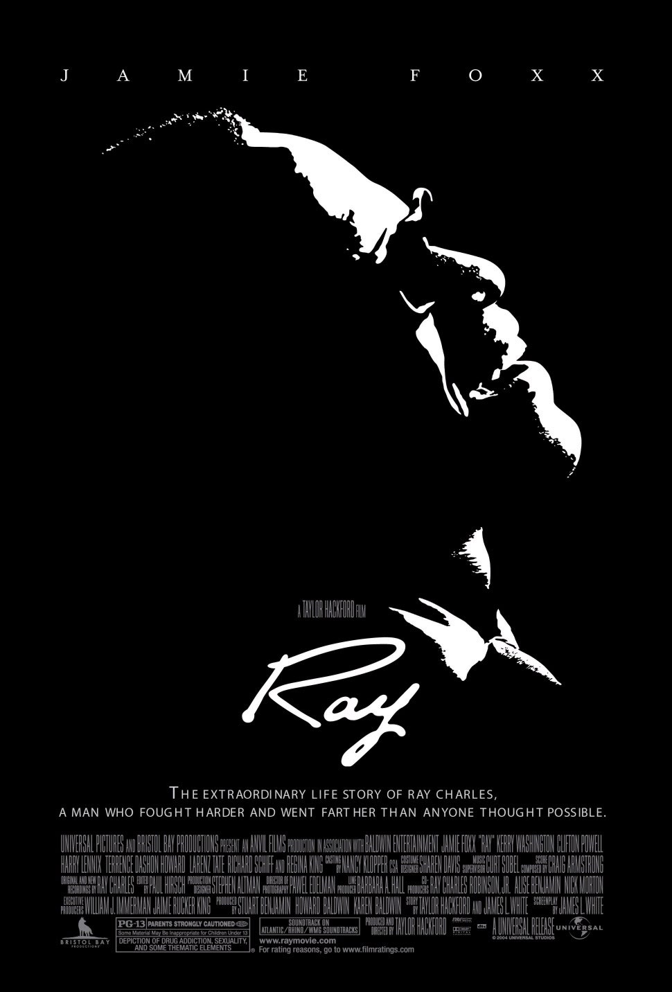 pôster oficial do filme Ray