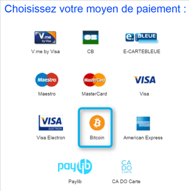 mon premier paiement en bitcoin sur payzen. Black Bedroom Furniture Sets. Home Design Ideas