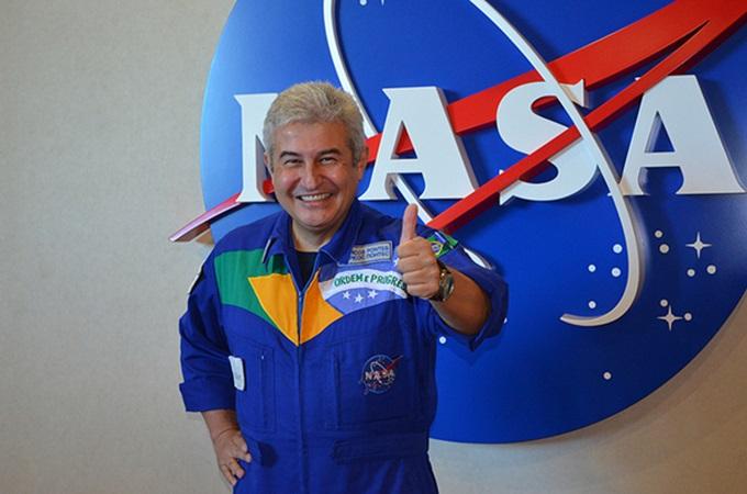 Astronauta Marcos Cesar Pontes participa de evento  com foco em planejamento de carreiras