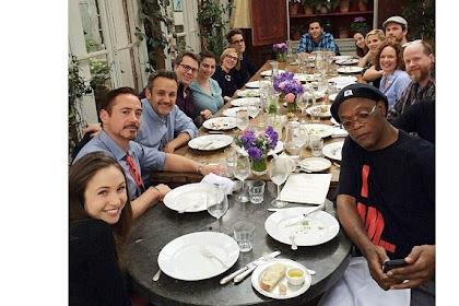 Keakraban Pemain Avengers Saat Jamuan Makan Malam