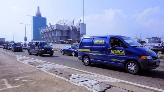 'Show of Strength' Tour: Konga shows off KExpress fleet of over 200 vehicles
