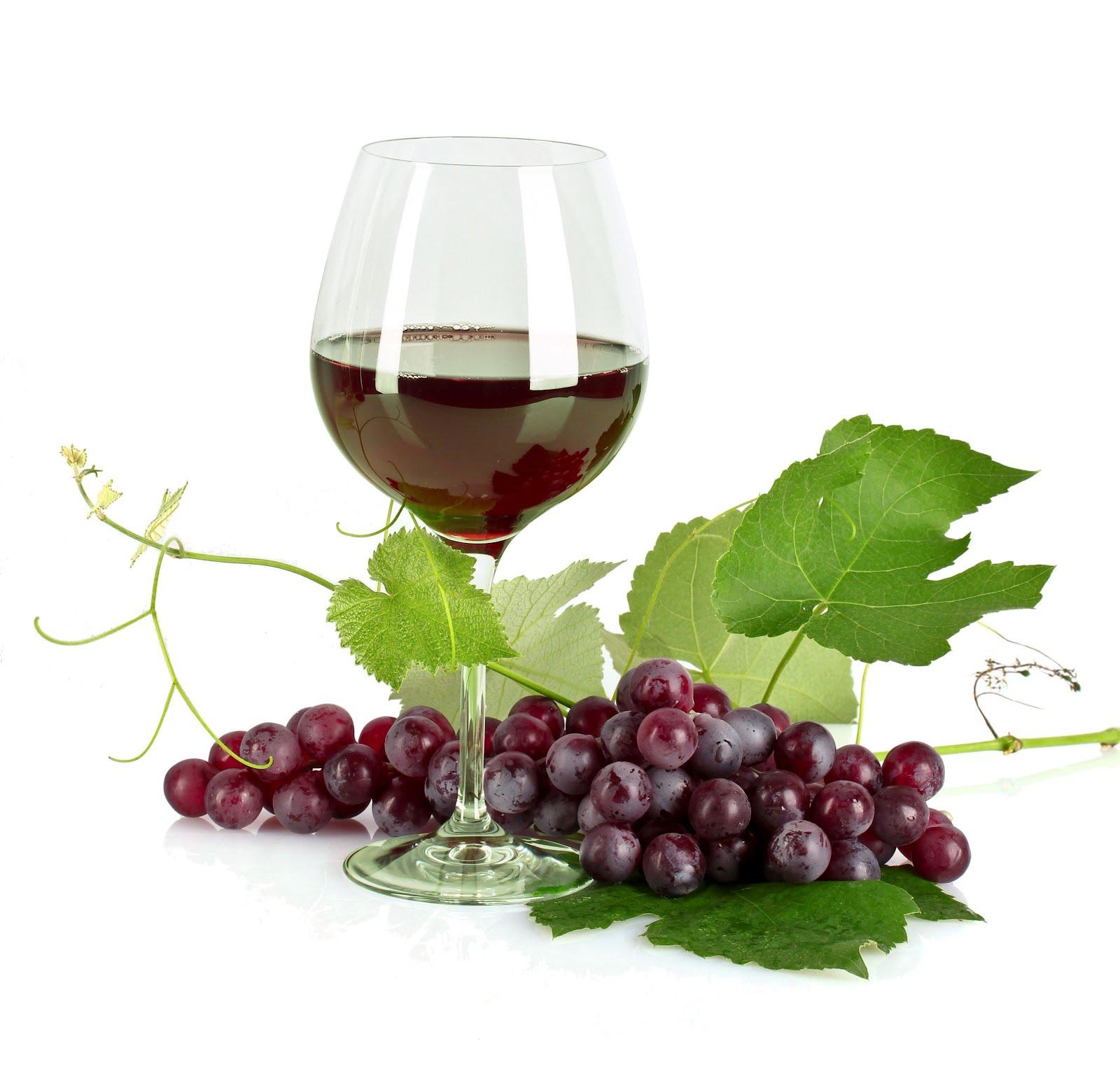 Banco de im genes copa de vino tinto con un racimo de for Copa vino blanco