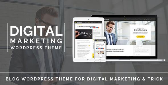 Free Download Digital Marketing V1.0 Blog WordPress Theme