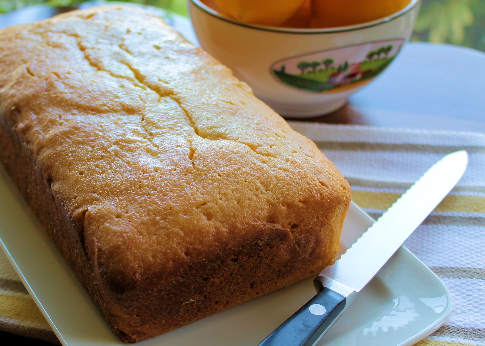 Savoir Faire: Meyer Lemon Pound Cake