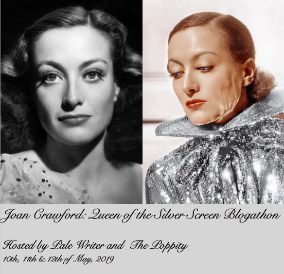 Time for a Joan Crawford Blogathon. If you're not on Team Joan, move along....