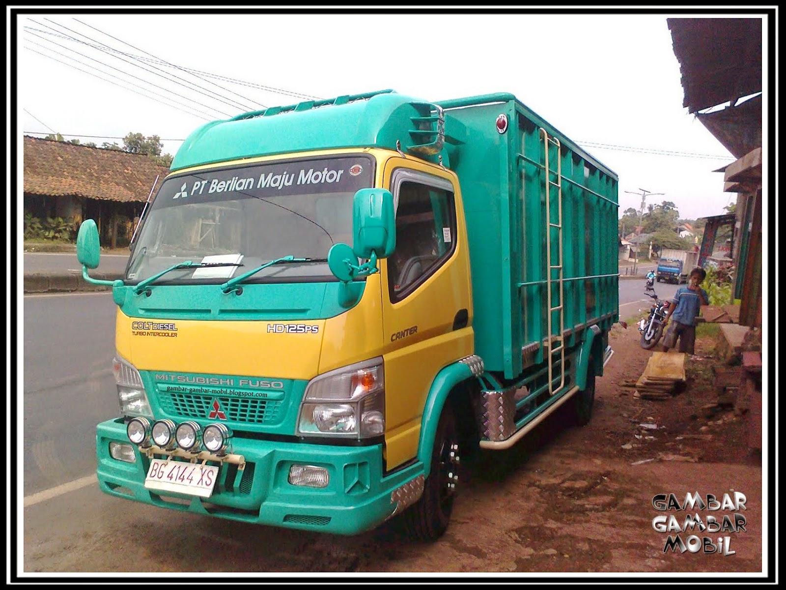 gambar mobil truk pasir