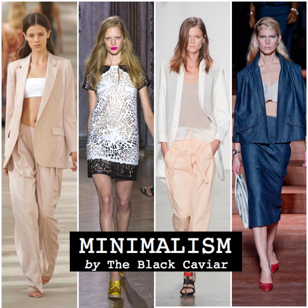 Summer fashion trend 2013: Minimalism (Giles, Miu Miu, Preen, Helmut Lang)
