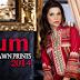 Anum Classic Lawn Prints 2014 By Al Zohaib Textile | Pakistani Summer Lawn Dresses 2014