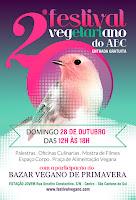 2º Festival Vegano do ABC + Bazar Vegano de Primavera