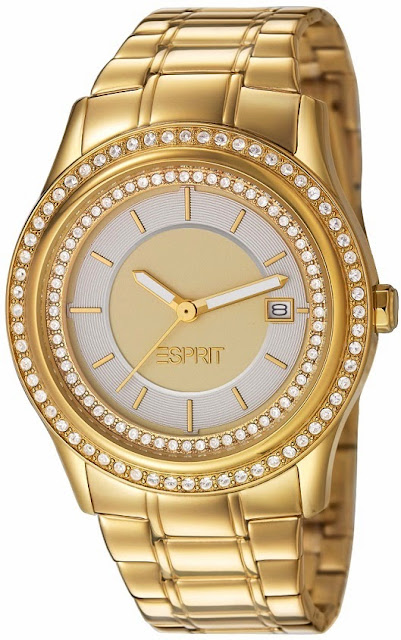 Esprit Opera of Allure Double Twinkle Gold Watch Price India