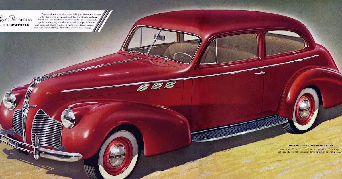 Transpress nz 1940 pontiac 2 door touring sedan for 1940 pontiac 2 door sedan