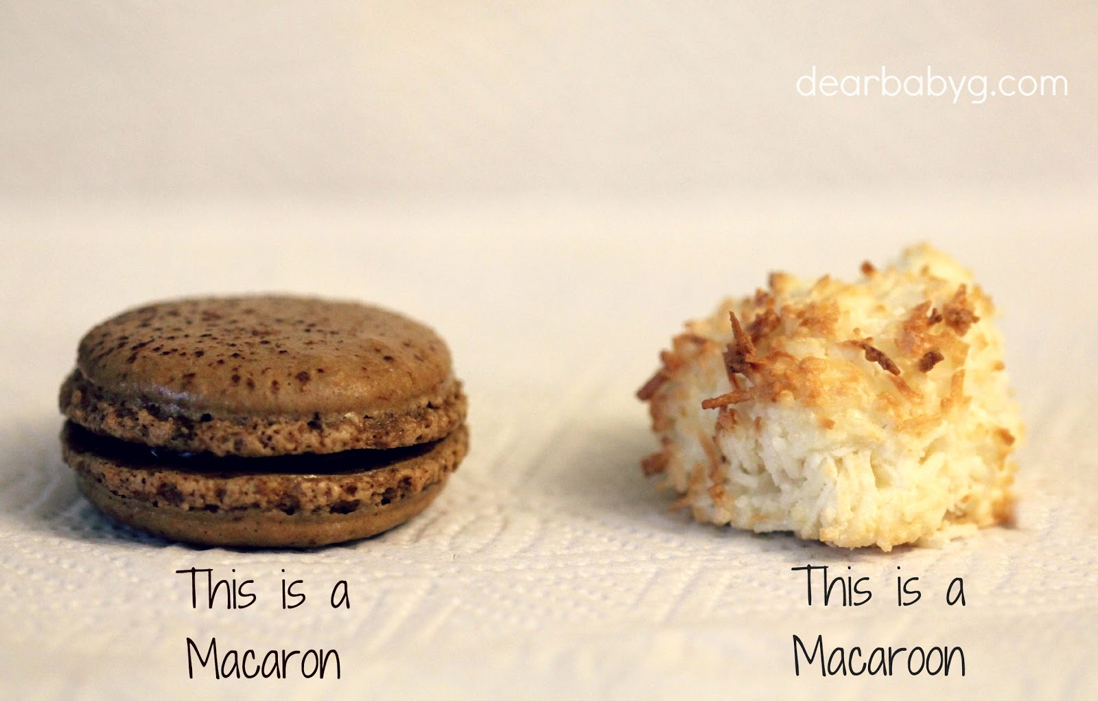 What is the difference between Macarons and Macaroons - Move Fuel Love