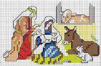 100 gráficos para bordados de natal parte 5