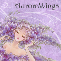 AURORA WINGS FANTASY ART