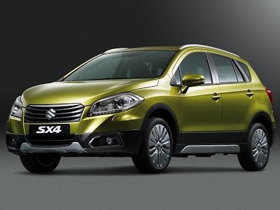 Suzuki SX4 llegará en otoño de 2013