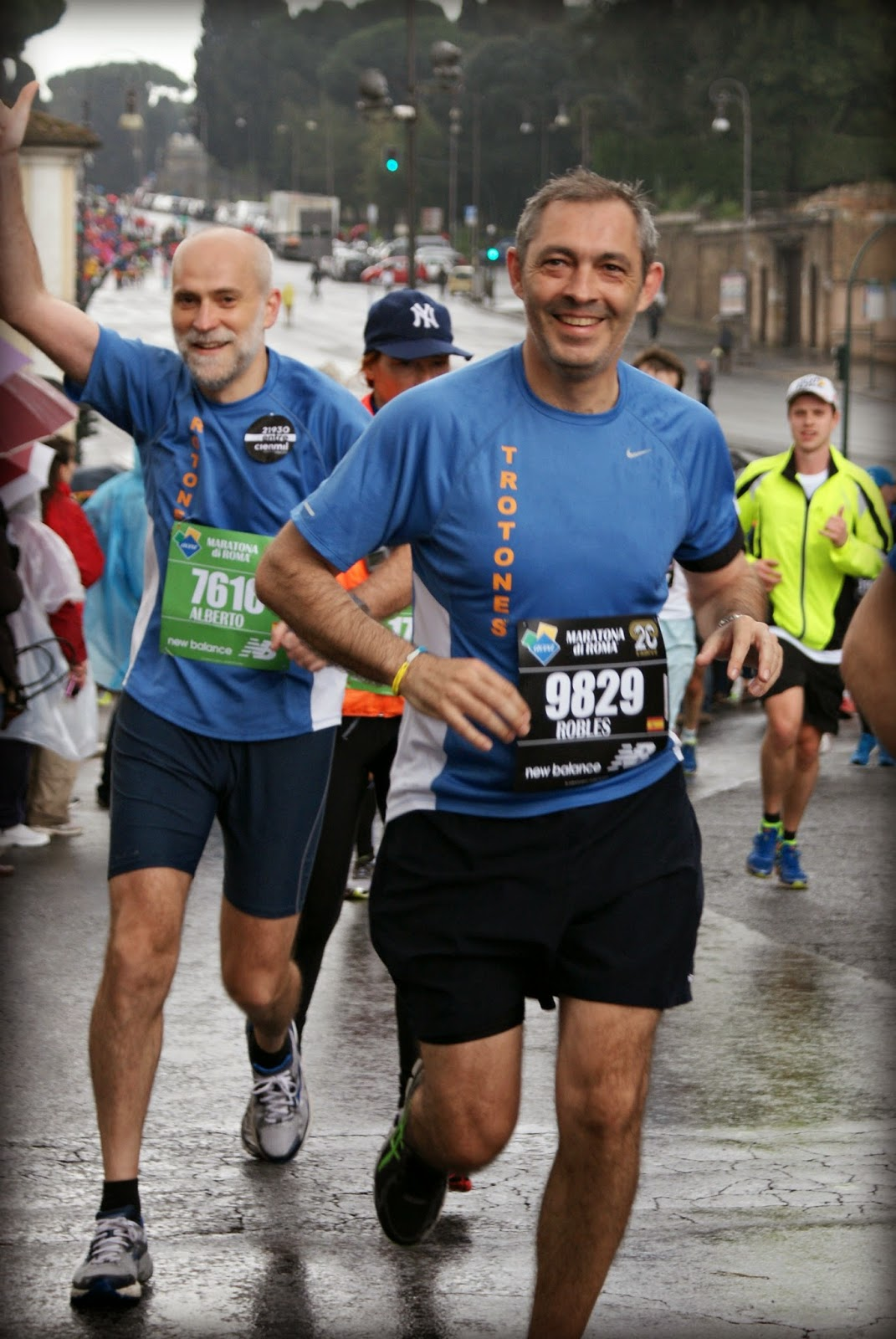 Maratón de Roma 2014 km13