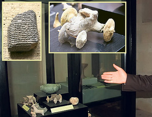 Mobil Mainan Berusia 7500 Tahun