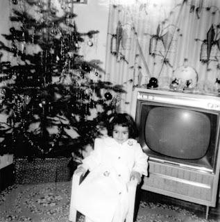 Yvonne Belair Christmas 1963