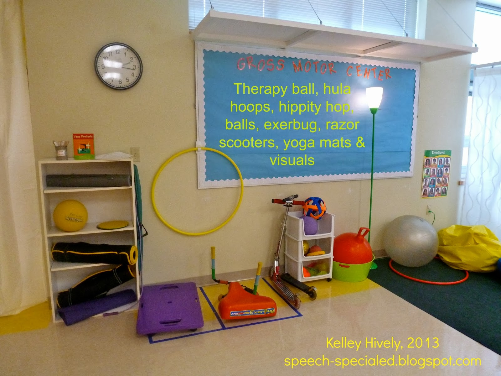 Classroom Ideas For Sensory Integration ~ The dynamic duo check out our sensory break space