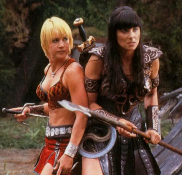 Opinion Gabrielle and xena warrior princess interesting