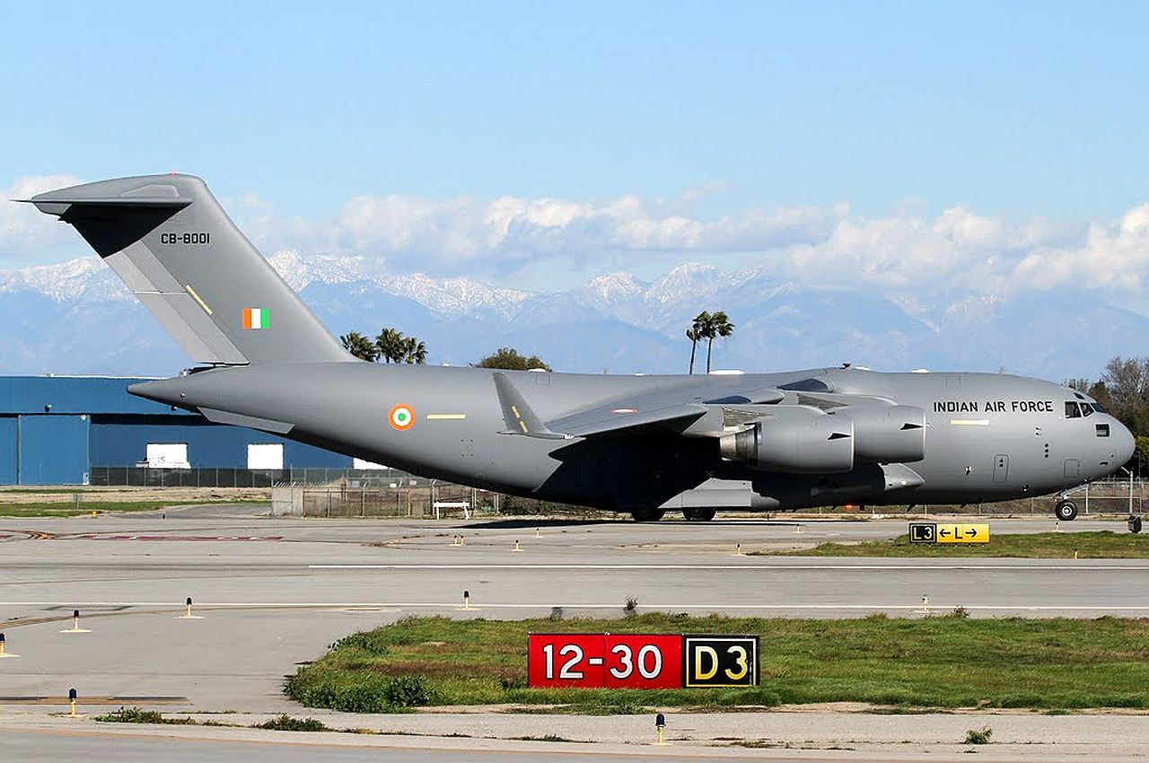 First Indian Air Force C-17A gets airbourne - Asian Defence News Today
