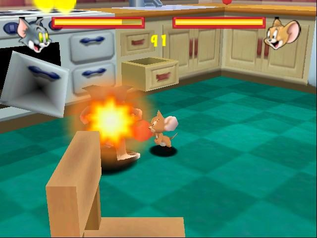 Download Tom and Jerry Game Fists Of Fury Free For PC Full Version