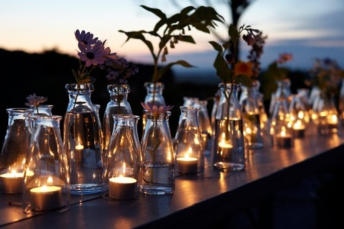 Botellas velas