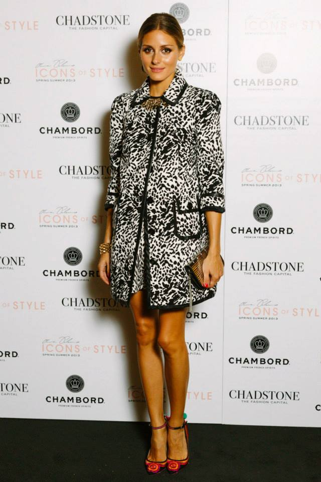 The Olivia Palermo Lookbook Olivia Palermo At The Chadstone Icons Of Style Fashion Show In