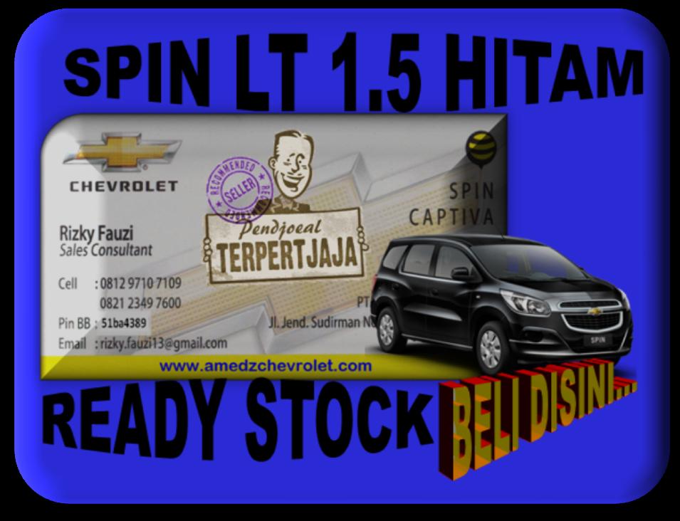 Promo Akhir Tahun Chevrolet Spin LT 1.5 0877 8015 0460