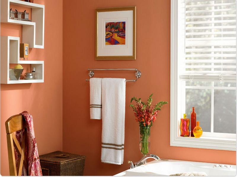 Crisp bathroom paint colors for mood booster yonehome for Bathroom colors 2015