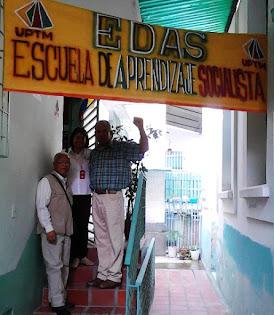 LA VISITA DE LUIS  IBARRA Y MARELIS