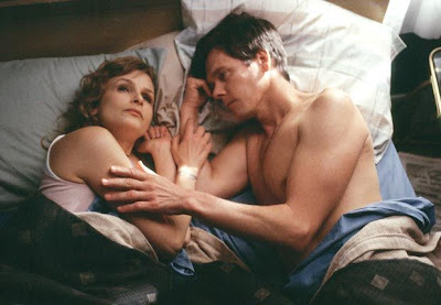 Kyra Sedgwick and Kevin Bacon in the 2004 movie, The Woodsman