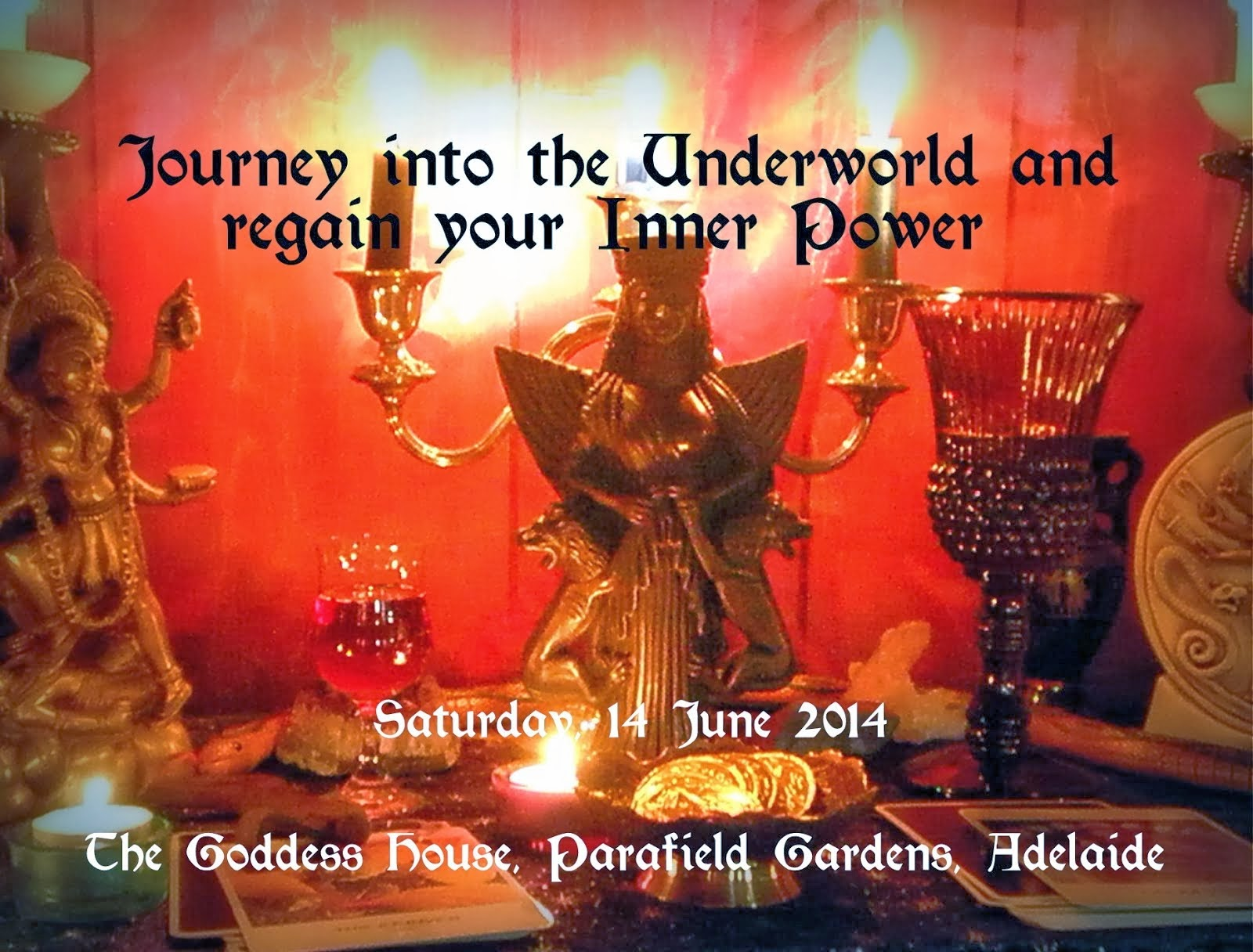 Journey with the Dark Goddess (14 June 2014)