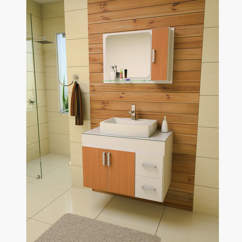 MC moveis planejados.: Balcão para banheiro sob medida. #442E13 1500 1500