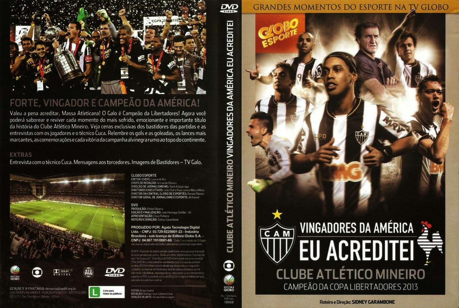 Vingadores da América Eu Acreditei DVDRip XviD Nacional capa