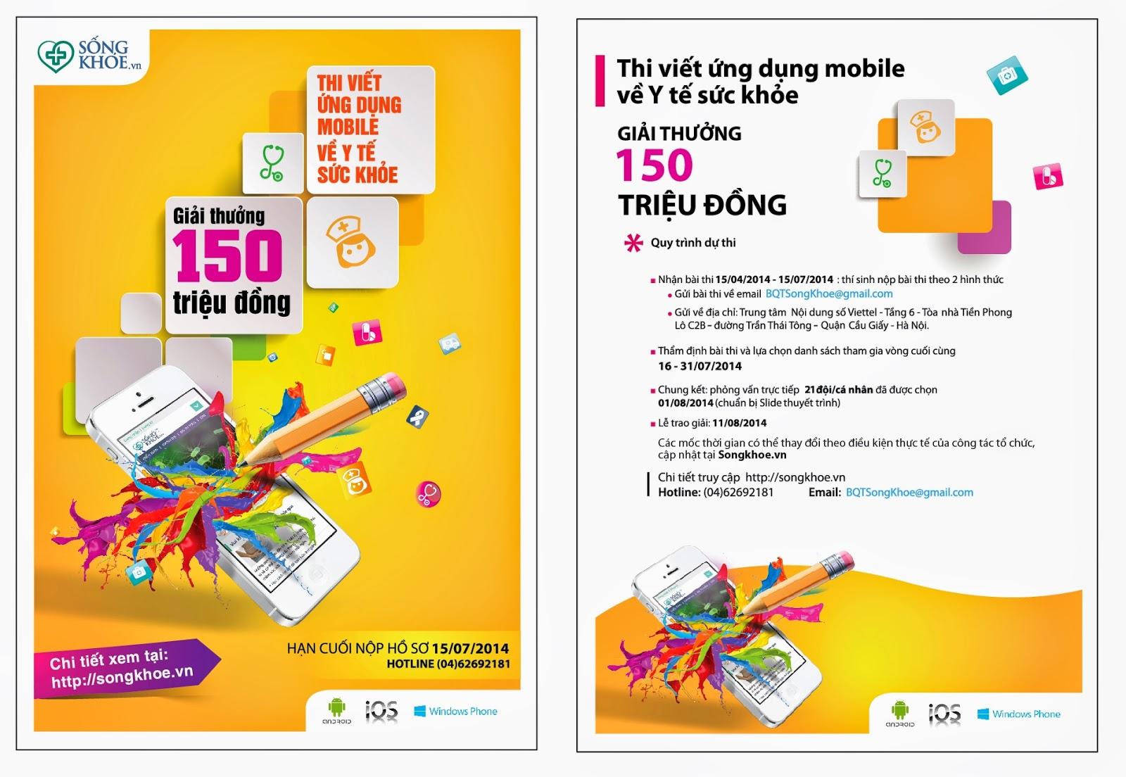Cuộc thi viết ứng dụng mobile cho Y tế cộng đồng của Viettel