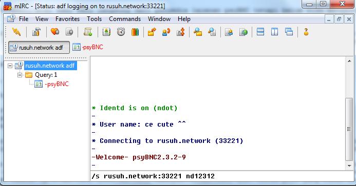Setup an advanced IRC proxy server (Bouncer) on any Windows machine