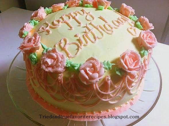 Tried And True Favorite Recipes Strawberry Lemonade Cake Or Pink