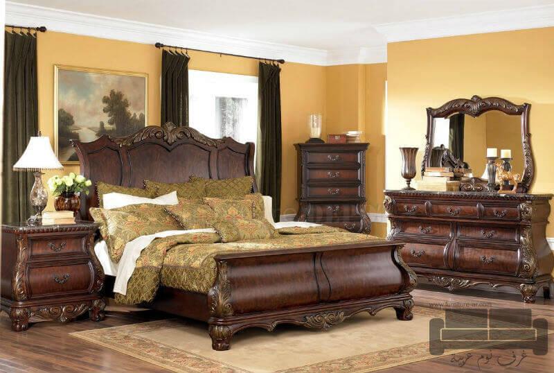 : تصميمات غرف نوم كلاسيكية : غرف
