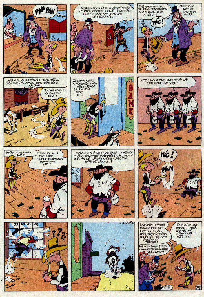 TruyenHay.Com - Ảnh 42 - Lucky Luke Tập 25 - Nhện Chân Dài