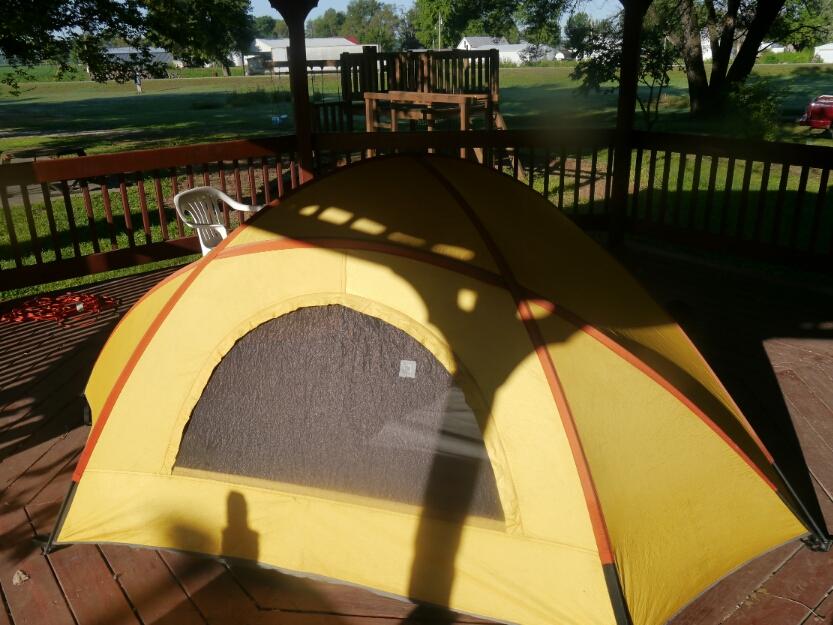 Hartsburg gazebo camping