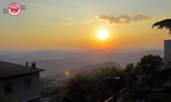 San Marino - Atardecer