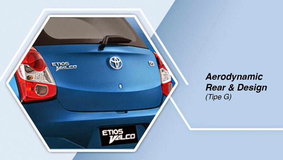 Aerodinamic Rear & Desain (Tipe G) Etios Valco