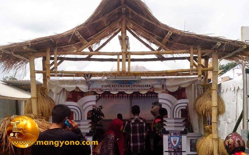 Stand Kec. Cipunagara, Pameran Pembangunan 2015.